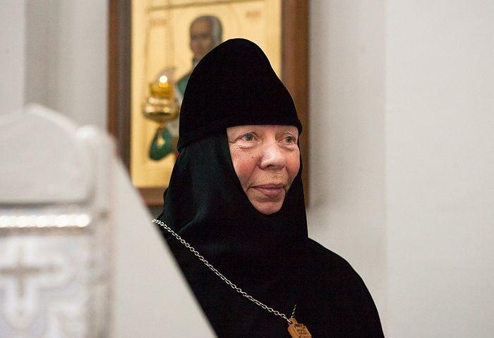 Игуманија Ангелина (Нестерова), фотографију је доставила прес-служба Спасо-Богородичиног манастира