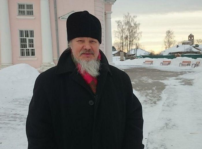 Протоиерей Андрей Лазарев настоятель Вознесенского храма в городе Кимры