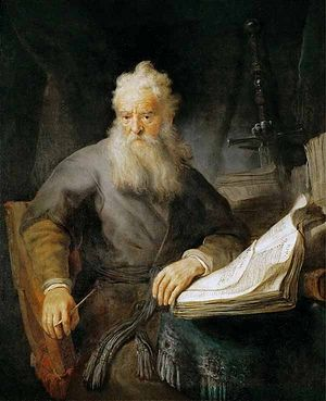 Rembrandt. The Apostle Paul. 1630