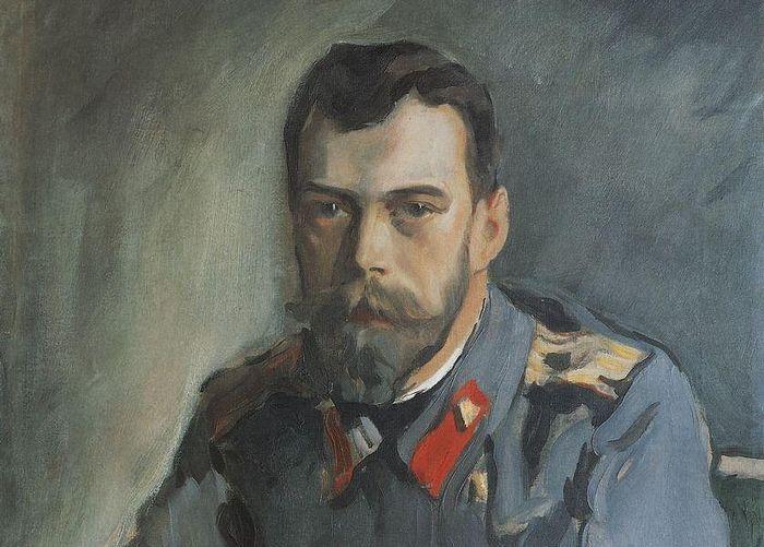 Портрет Императора Николая II. Художник: Валентин Серов