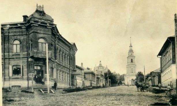 Всехсвятский собор Тулы. Фото нач. XX века