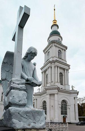 Колокольня Всехсвятского собора Тулы. Современный вид