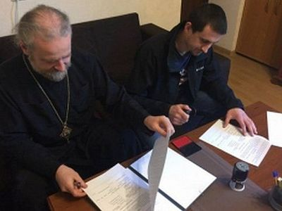 «Киевский патриархат» подписал соглашение о сотрудничестве с праворадикалами