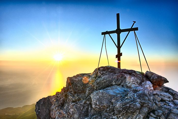 The summit of Mt. Athos