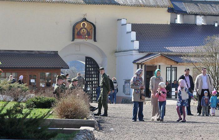 Воскресенье в Боровском монастыре