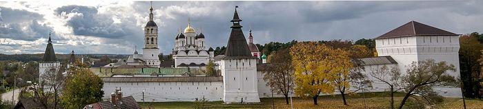 Панорама Пафнутьева Боровского монастыря