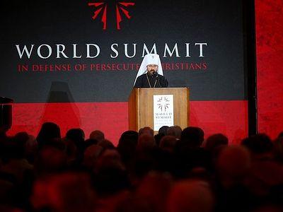 Доклад на Всемирном саммите в защиту гонимых христиан