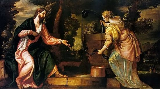 the moral lesson in the story of the samaritan woman at the well from the gospel of john Ministry lessons from the woman at the well in this story and often in the gospel of john on the scene at the samaritan well, the woman's oblivion to.