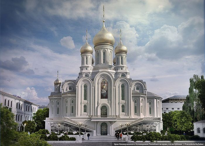 Эскизный проект нового храма