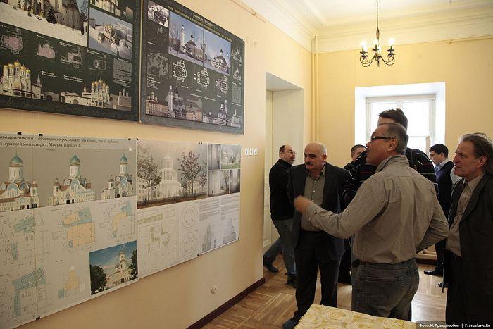 Обсуждение проектов храма