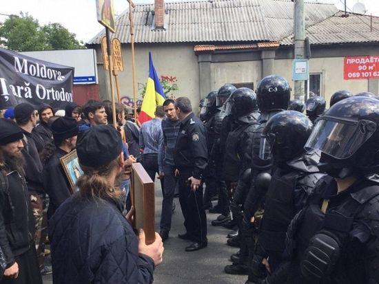 У Молдавији православци спречили одржавање геј параде
