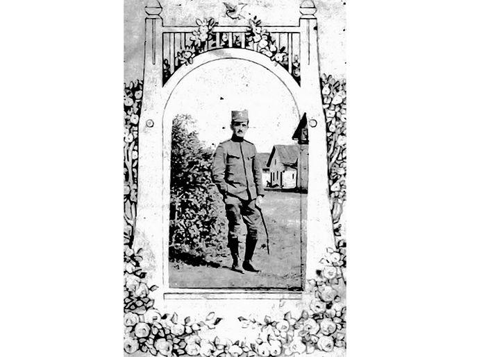"""Светислав Света Радуловић (Фото Из књиге """"Мемоари једног војника"""")"""
