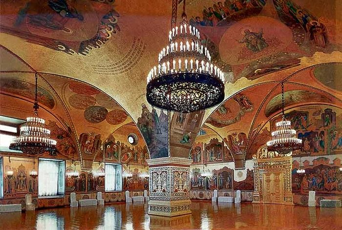 Грановитая палата. Московский Кремль.