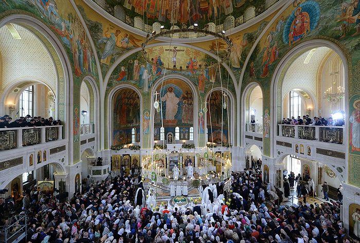 Russian Church Abroad Sends