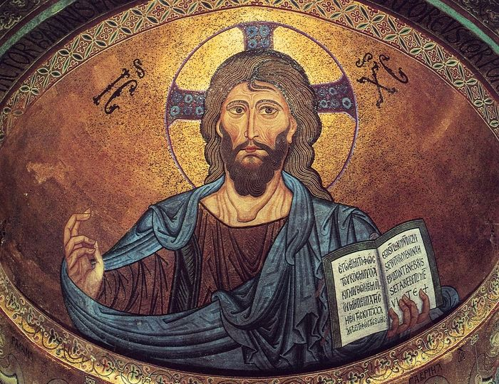 Христос Пантократор. Италия, собор Чефалу