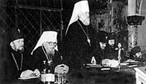 Выступление митрополита Владимира (Сабодана) на соборе УПЦ 26 июня 1992 года в Киево-Печерской лавре