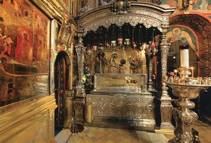 Свято-Троице-Сергиева лавра, рака с мощами прп.Сергия
