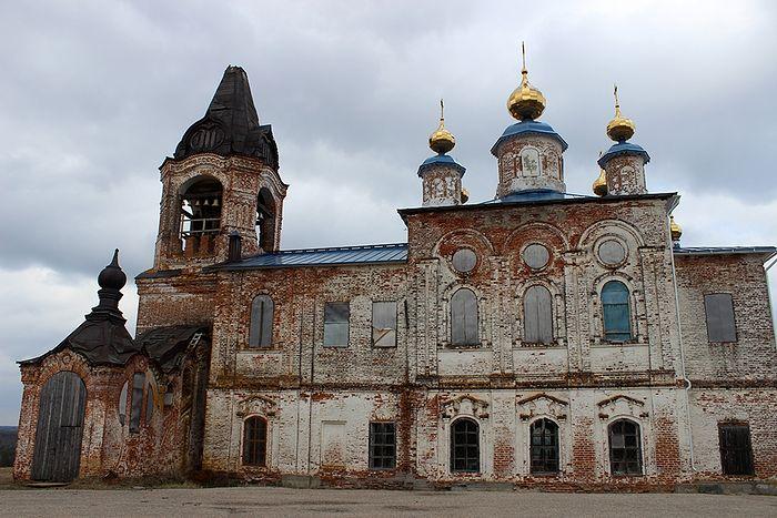 Храм Рождества Пресвятой Богородицы деревни Онежье