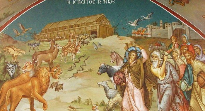 Ноев ковчег. Лавра Прп. Саввы Освященного