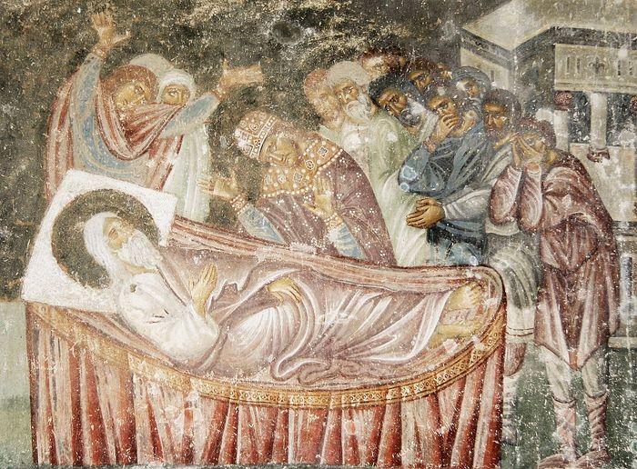 Преставление Иакова. Монастырь Сопочаны, Сербия