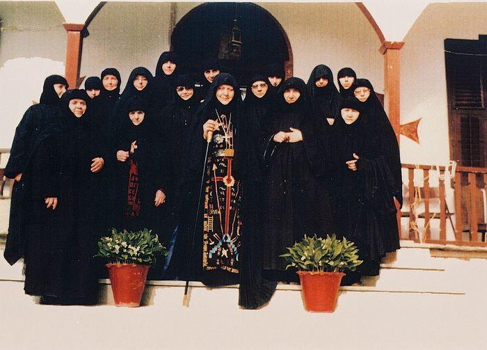 Abbess Macrina and sisters.