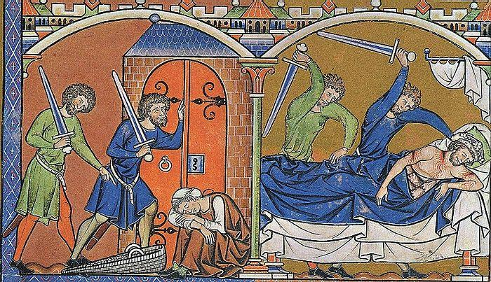 Убийство Иевосфея. Библия Мациевского