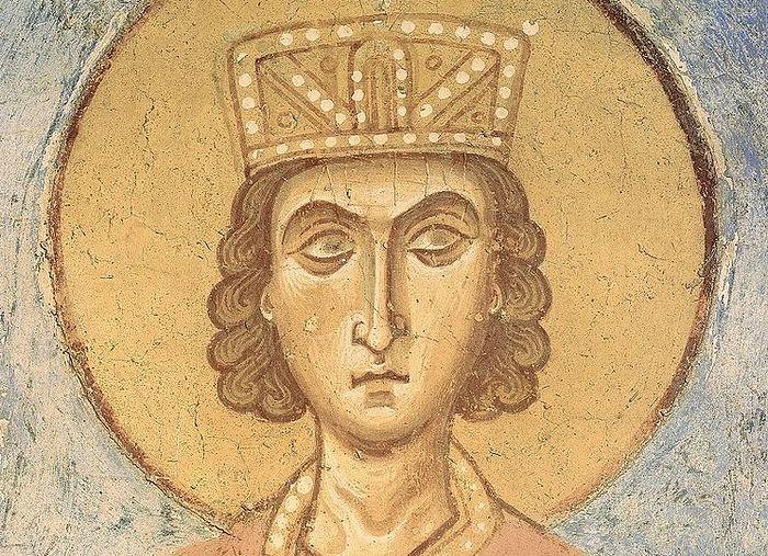 Царь Соломон. Старая Ладога, Георгиевская церковь, XII в. fd066b25afd