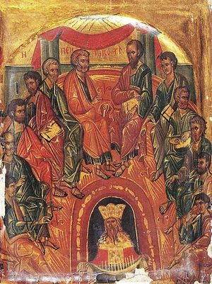 Pentecost icon, Sinai