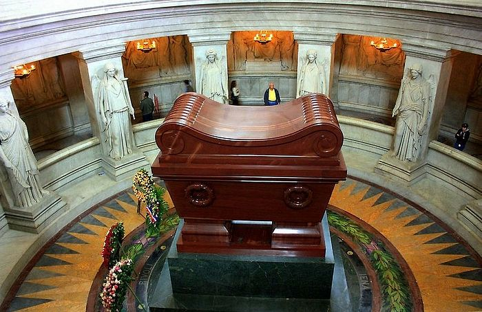Napoleon's tomb at Les Invalides