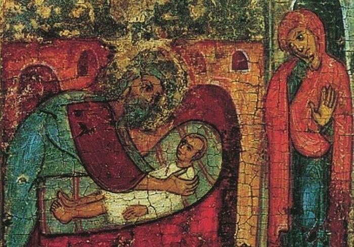 Илия пророк воскрешает сына вдовицы