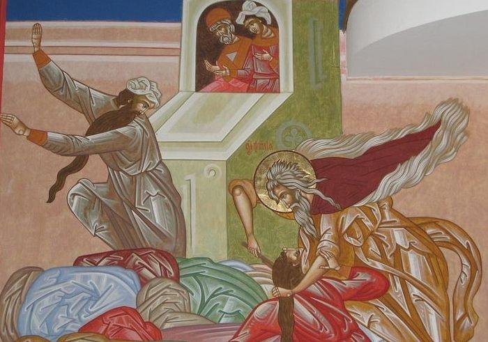 Заклание жрецов Ваала