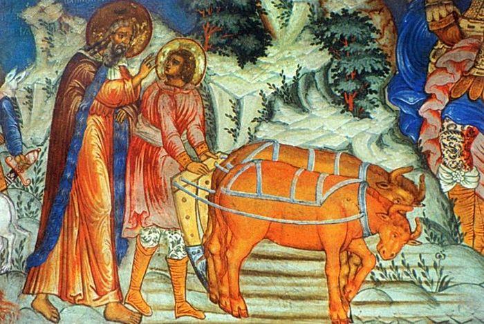 Пророк Илия и пророк Елисей