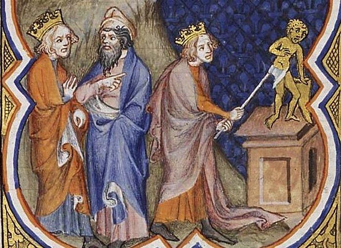 Царь Аса разрушает идолов