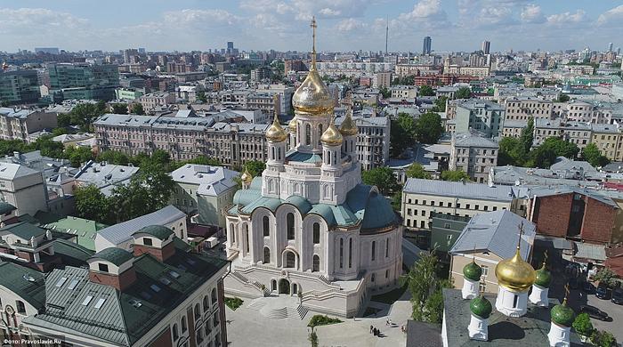 Храм Воскресения Христова, Новомучеников и Исповедников Церкви Русской. Фото: Православие.Ru