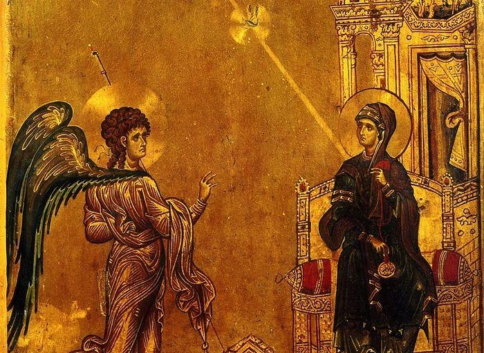 Благовещение Пресвятой Богородицы. Синай, монастырь св. Екатерины