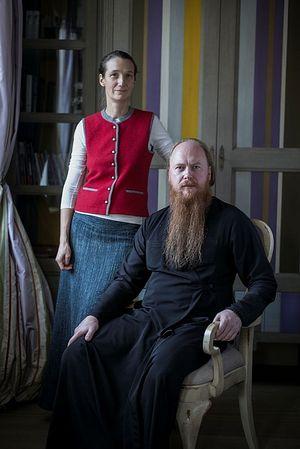 Протоиерей Димитрий и матушка Любовь Рощины. Фото: Григорий Ярошенко