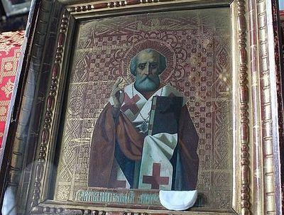 В Данкове замироточила икона святителя Николая Чудотворца