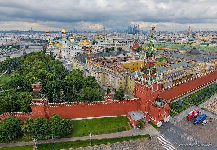 Московский Кремль. Фото: Airpano.com