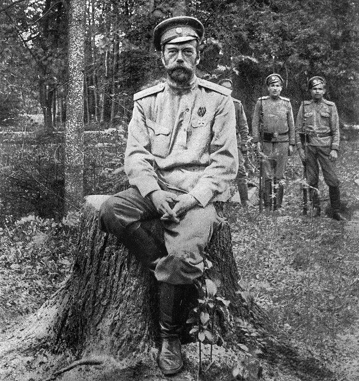 Tsar Nicholas II of Russia. Tobolsk, 1917-1918