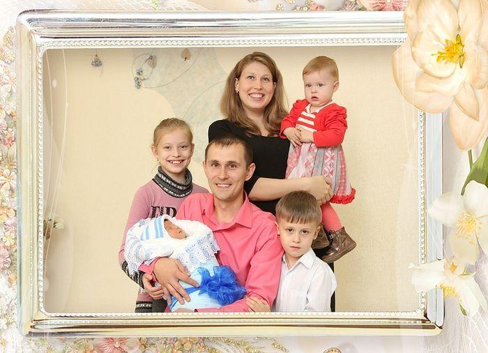 The Yunusov family.