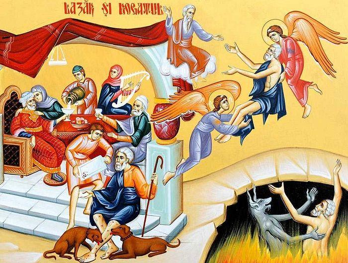 Картинки по запросу притча о Богаче и Лазаре