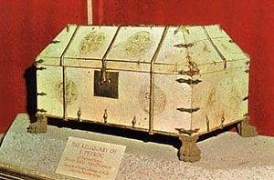 Древняя рака св. Петрока в церкви Бодмина, Корнуолл