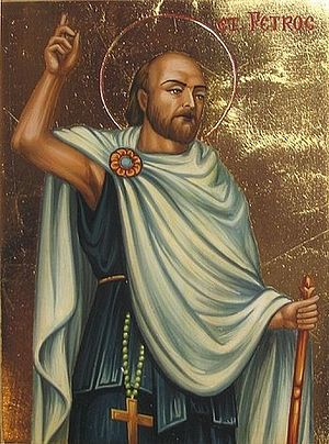 Икона преподобного Петрока (Живко Донков)