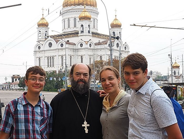 В Москве, август 2016