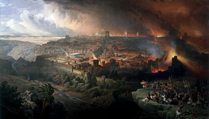 Разрушение Иерусалима. Д. Робертс