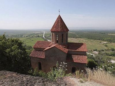 Азербайджанские телекомпании снимают в грузинском православном храме кощунственные клипы
