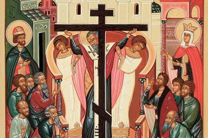 Обретение Честного креста и гвоздей равноапостольной царицей Еленой в Иерусалиме