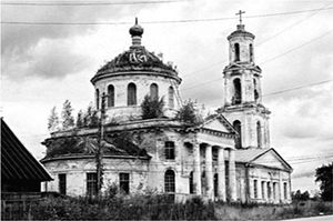 Храм Богоявления, с. Толмачи