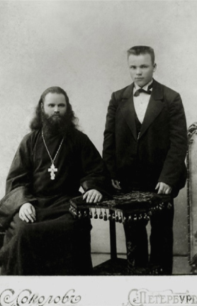 Игумен Феодорит и отец Петр