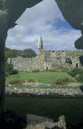 Ruins of the medieval nunnery on Iona